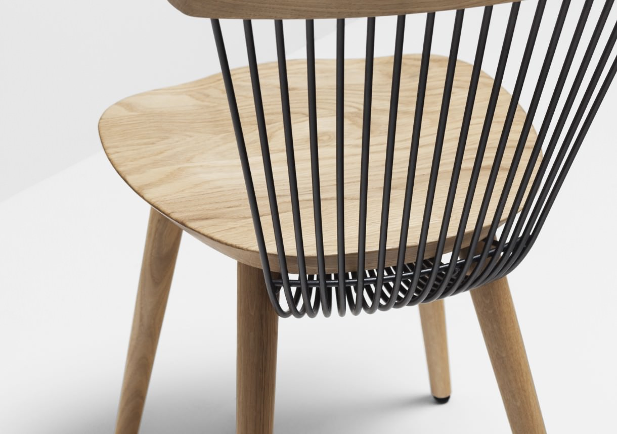 WW chair nouvelle chaise Windsor par le studio Hierve
