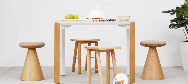 La table modulaire 45 du studio LaSelva