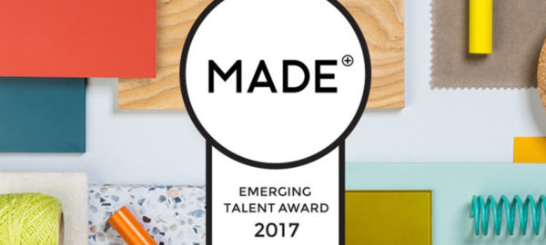 Appel à projets : MADE.COM Emerging Talent Award 2017