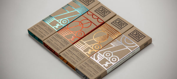 Packaging : Crude par le studio Happycentro